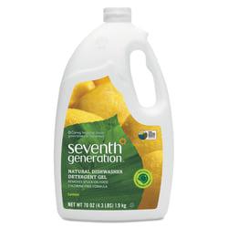Seventh Generation® Natural Automatic Dishwasher Gel, Lemon, 70 Oz