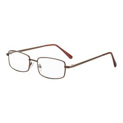 Dr. Dean Edell Richmond Reading Glasses, +1.25, Bronze