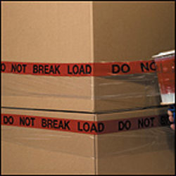 "GoodWrappers® Preprinted Identiwrap Stretch Film, ""Do Not Break Load,"" 80 Gauge, 5"" x 500', Pack Of 6"