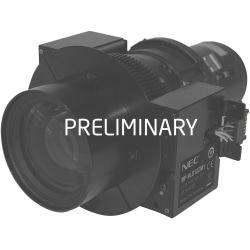 NEC Display - 18.60 mm to 26.70 mm - Zoom Lens - Designed for Projector - 1.4x Optical Zoom