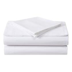 "1888 Mills Green Threads Organic Standard Pillowcases, 42"" x 36"", White, Pack Of 72 Pillowcases"