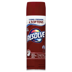 Resolve® Foam Carpet Cleaner, 22 Oz Bottle