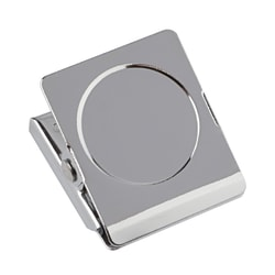 Office Depot® Brand Magnetic Clips, Silver, Pack Of 2