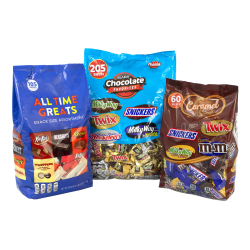National Brand Chocolate Favorites Minis Bundle Mix, Pack Of 3 Bags