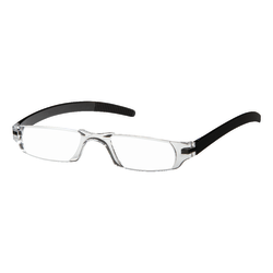 Dr. Dean Edell Slim Vision Reading Glasses, +1.50, Black