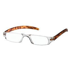 Dr. Dean Edell Slim Vision Reading Glasses, +1.50, Tortoise