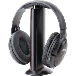 Pyle Professional PHPW5 Headset - Stereo - Wireless - Over-the-head - Binaural - Ear-cup