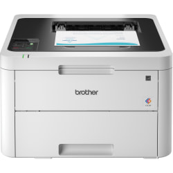 Brother HL-L3230CDW Compact Digital Color Printer With Wireless and Duplex Printing