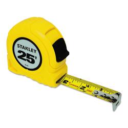 Stanley® Bostitch Thumb Latch Lock Measuring Tape, 25'