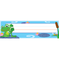 Carson-Dellosa Quick Stick® FUNky Frogs, Pre-K - Grade 5, Pack Of 30