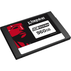 Kingston Enterprise SSD DC500M (Mixed-Use) 960GB - 1.3 DWPD - 2278 TB TBW - 555 MB/s Maximum Read Transfer Rate - 256-bit Encryption Standard - 5 Year Warranty