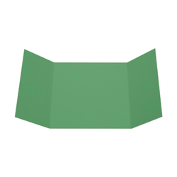 """LUX Gatefold Invitation Envelopes, 6 1/4"""" x 6 1/4"""", Holiday Green, Pack Of 50"""