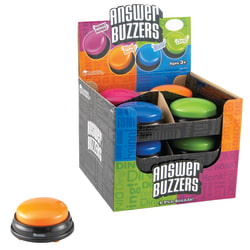Learning Resources® Answer Buzzers, Pack Of 12