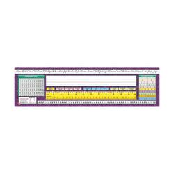 "North Star Teacher Resources Intermediate Desk Plates, 19"" x 5"", Traditional Cursive, Pre-K - Grade 8, 36 Plates Per Pack, Set Of 3 Packs"
