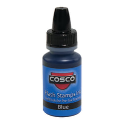 Pre-inked Stamp Re-Inking Fluid, 10 cc, Blue