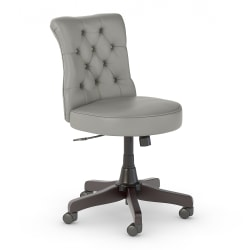 Bush Business Furniture Arden Lane Mid-Back Office Chair, Light Gray, Standard Delivery