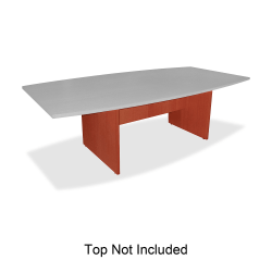 Lorell® 3-Leg Conference Table Base, For 8'W Top, Cherry