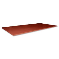 """Lorell® Essentials Conference Rectangle Table Top, 2-Piece, 96""""W, Cherry"""