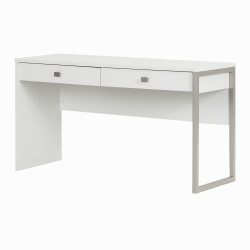 South Shore Interface 2-Drawer Desk, Pure White