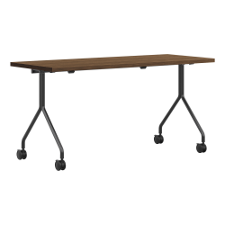 "HON Between Nesting Table, 29""H x 72""W x 30""D, Brown/Black"
