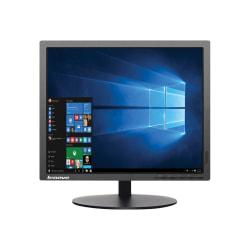 """Lenovo ThinkVision T1714p 17"""" SXGA LED LCD Monitor - 5:4 - Raven Black - 17"""" Class - 1280 x 1024 - 16.7 Million Colors - 250 Nit - DVI - VGA - DisplayPort"""