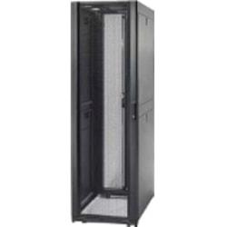 "Schneider Electric NetShelter SX Rack Cabinet - 48U Rack Height x 19"" Rack Width - Floor Standing - Black - 3010 lb Maximum Weight Capacity"