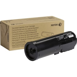 Xerox Toner Cartridge - Black - Laser - Standard Yield - 6000 Pages - 1 Each