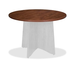 """Lorell® Essentials Round Table Top, 42""""D, Cherry"""