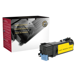 Clover Imaging Group™ Remanufactured High-Yield Toner Cartridge, Yellow, 200659 (Dell™ 8GK7X / 331-0715 and Dell 9X54J / 331-0718)