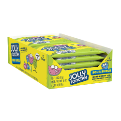 Jolly Rancher Sour Surge Hard Candy, 1.5 Oz, Pack Of 12 Boxes