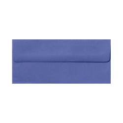 "LUX Envelopes With Peel & Press Closure, #10, 4 1/8"" x 9 1/2"", Boardwalk Blue, Pack Of 250"