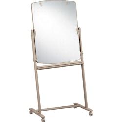 """Quartet® Large Reversible Total Erase™ Mobile Easel, Neutral Frame, 30"""" x 41"""""""