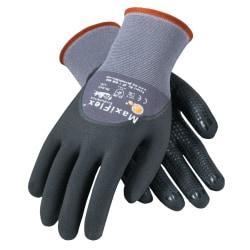 Bouton® MaxiFlex® Endurance™ Nitrile Gloves, Medium, Black/Gray, Pack Of 12 Pairs