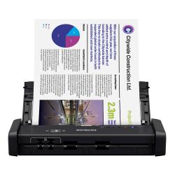 Epson® ES-200 Duplex Mobile Color Document Scanner with Auto Document Feeder