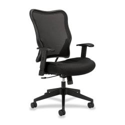 HON® VL702 Mesh High-Back Task Chair, Black
