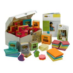 Post-it® Notes Treasure Chest 10 Pound Assorted Variety