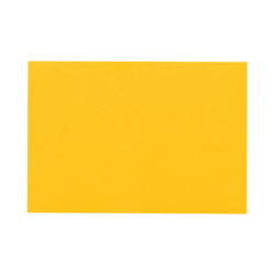 """LUX Flat Cards, A2, 4 1/4"""" x 5 1/2"""", Sunflower Yellow, Pack Of 1,000"""
