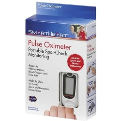 Veridian Healthcare Pulse Oximeter - For Pulse Rate - Backlit Digital Display, Low Battery Indicator, Auto Shutoff, Latex-free