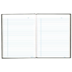"""Blueline Business Notebook, 9-1/4"""" x 7-1/4"""", College Rule, 192 Pages, 50% Recycled, Blue"""