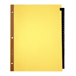 Office Depot® Brand Preprinted Tab Dividers, Daily
