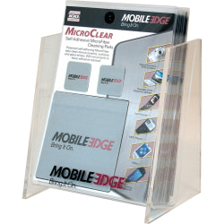 Mobile Edge MicroClear Cleaning Pad - MicroFiber - Silver