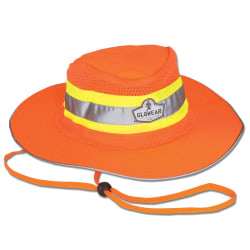 Ergodyne GloWear 8935 Hi-Vis Ranger Hat, 2X/3X, Orange