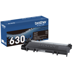 Brother® TN-630 Black Toner Cartridge