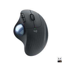 Logitech® ERGO M575 Wireless Optical Mouse, Black, 910-005869