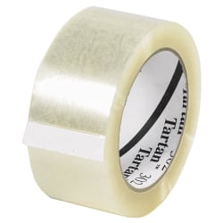 "3M® 302 Carton-Sealing Tape, 2"" x 110 Yd., Clear, Case Of 36 Rolls"
