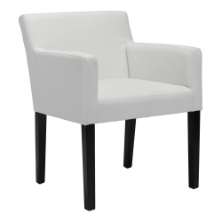 Zuo Modern Franklin Dining Chair, White/Black