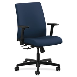 HON® Ignition® Low-Back Task Chair, Navy