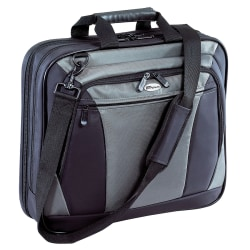 "Targus® CityLite Notebook Computer Case, 15"", Black/Silver"