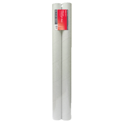 "Office Depot® Brand Tuff Tube Mailing Tube, 3"" x 36"", White, Pack Of 2"