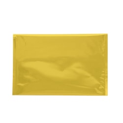 """Office Depot® Brand Metallic Glamour Mailers, 12-3/4"""" x 9-1/2"""", Gold, Case Of 250 Mailers"""